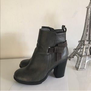 Shoes - Chunky Heel Booties